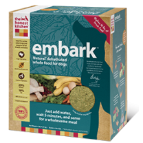 Embark™ is a gluten-free dog food